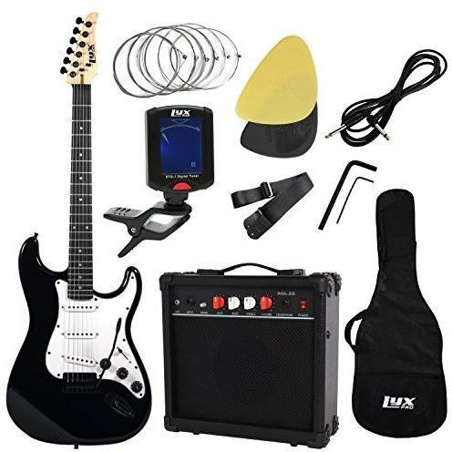 Full Size Electric Guitar Beginner Starter Kit Pack